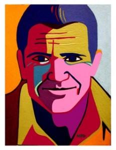 Mad Mel Gibson by Marcia Gawecki