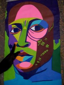 Miles Davis Banner w/cat
