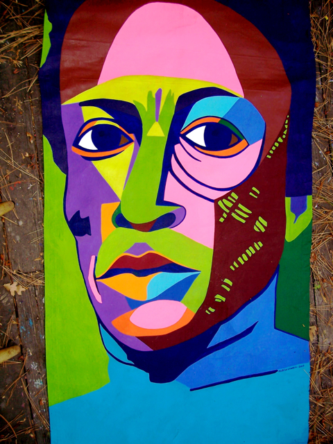 Pop art portraits marcia gawecki 11 art banners at jazz in the pines idyllwild solutioingenieria Image collections